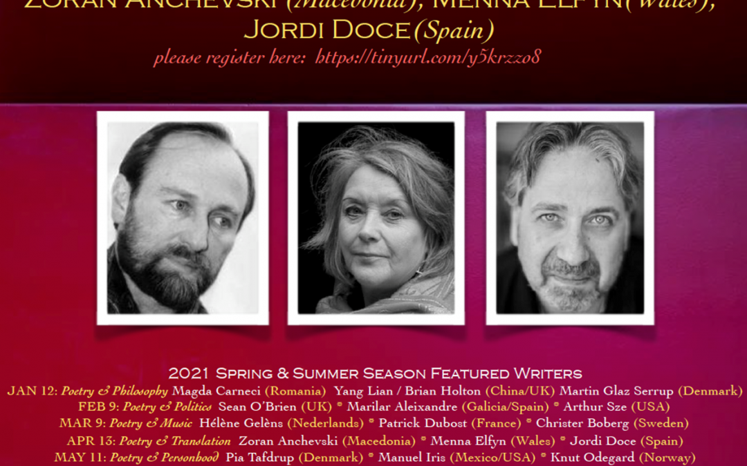 International poets and writers – Conclave